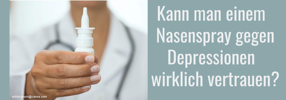 Nasenspray gegen Depressionen