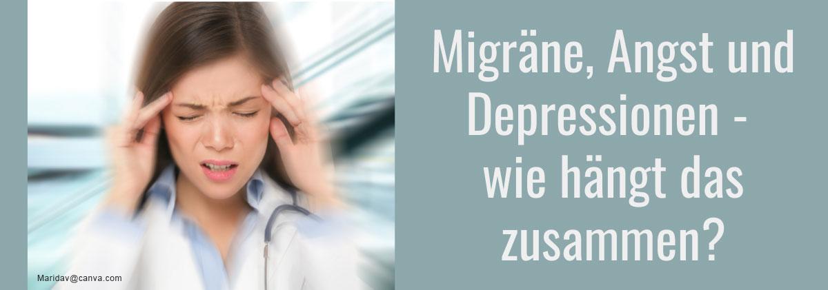 Wie Migräne, Depressionen und Angststörungen zusammenhängen