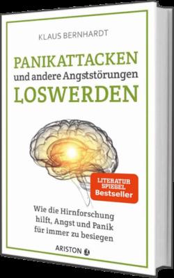 Buchcover-Panikattacken und andere Angststörungen loswerden von Klaus Bernhardt