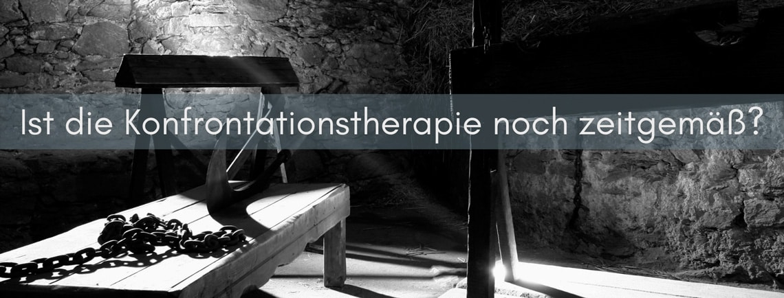 Konfrontationstherapie gegen Angststoerungen - Folterbank